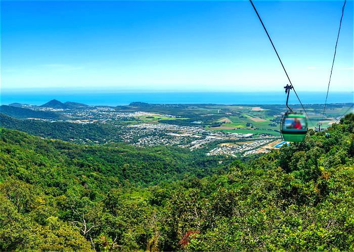 Jour 20:  Kuranda village – Cairns – Sydney
