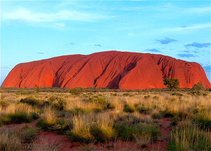 Jour 17:  Kings Canyon-Ayers Rock