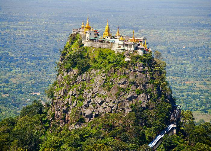 JOUR 9:  Bagan - Popa – Kalaw