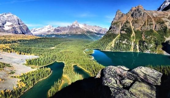 Grand tour dans  l'Ouest canadien (18 jours)