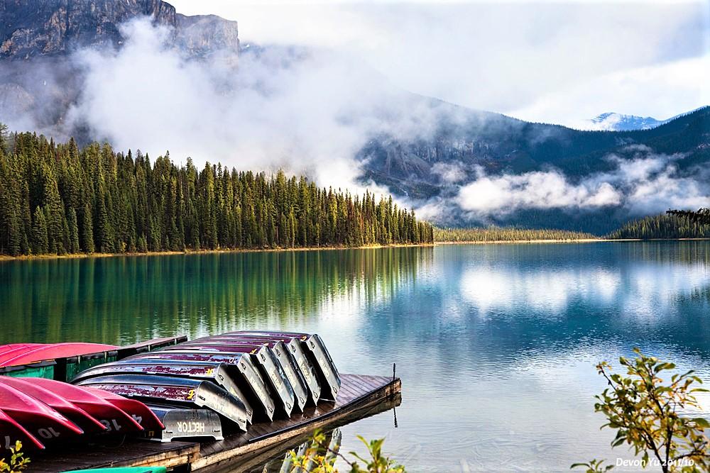 Jour 5 - Banff – Yoho -Crossing (310KM)