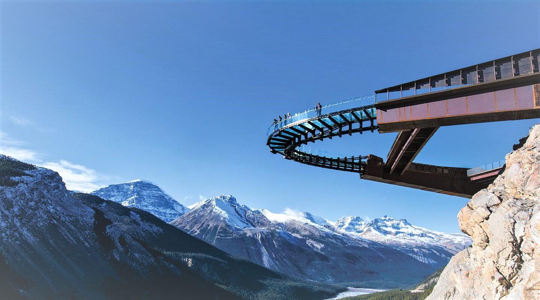 Jour 6 - Crossing – Champ de Glace Columbia –Jasper (170KM)