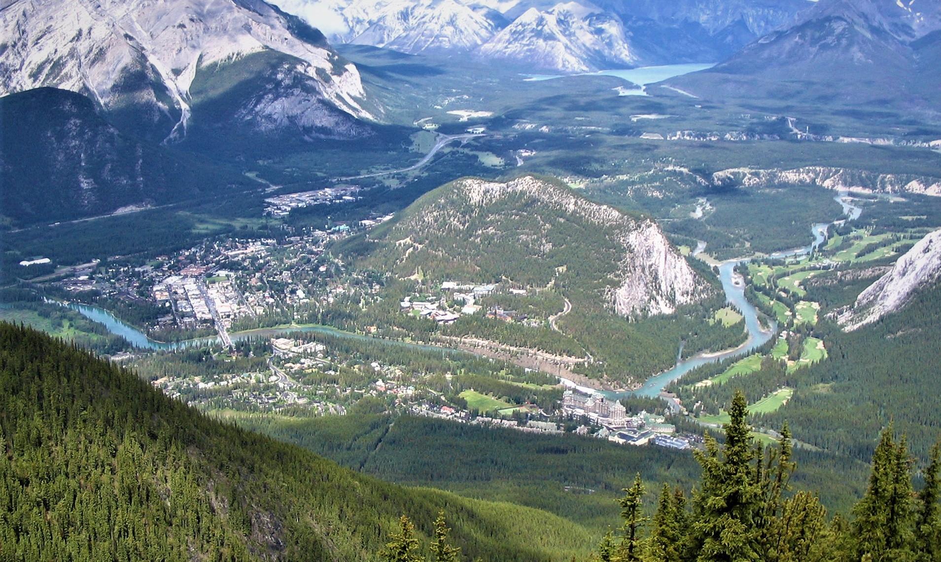 Jour 3 - Calgary – Banff (160KM)