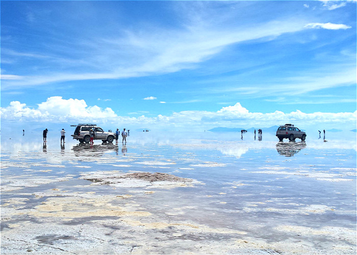 JOUR 21: SALAR : TAHUA / Ile « Pescado » / COLCHANI / UYUNI