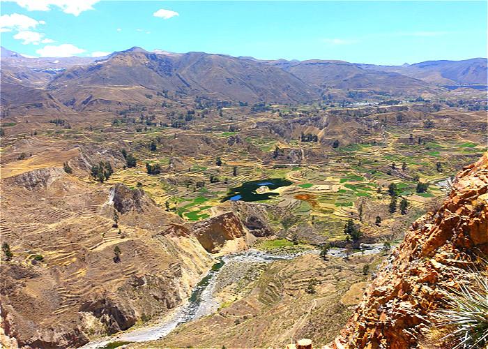 JOUR 9:  AREQUIPA / CANYON DE COLCA (YANKE)