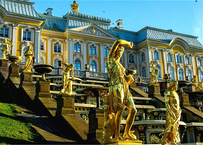 Grand tour en Russie