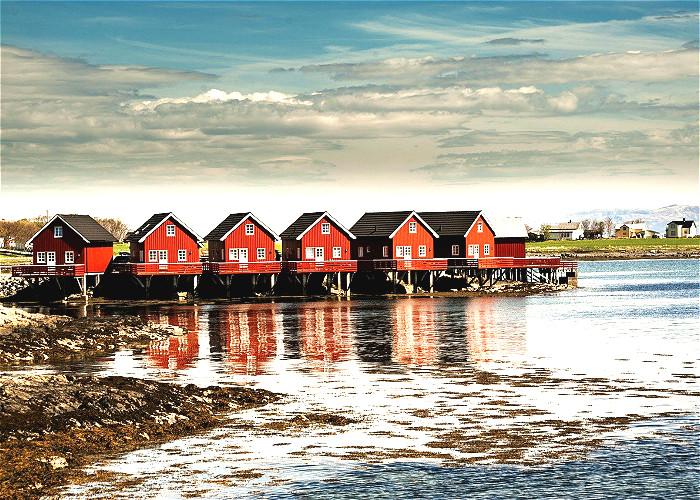 SCANDINAVIE avec Suède, Norvège, Finlande, Danemark